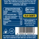 Retro Etichetta Dante Classico