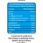 Topazio Olio di Mais Etichetta