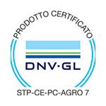 Certificazione STP CE PC AGRO 7