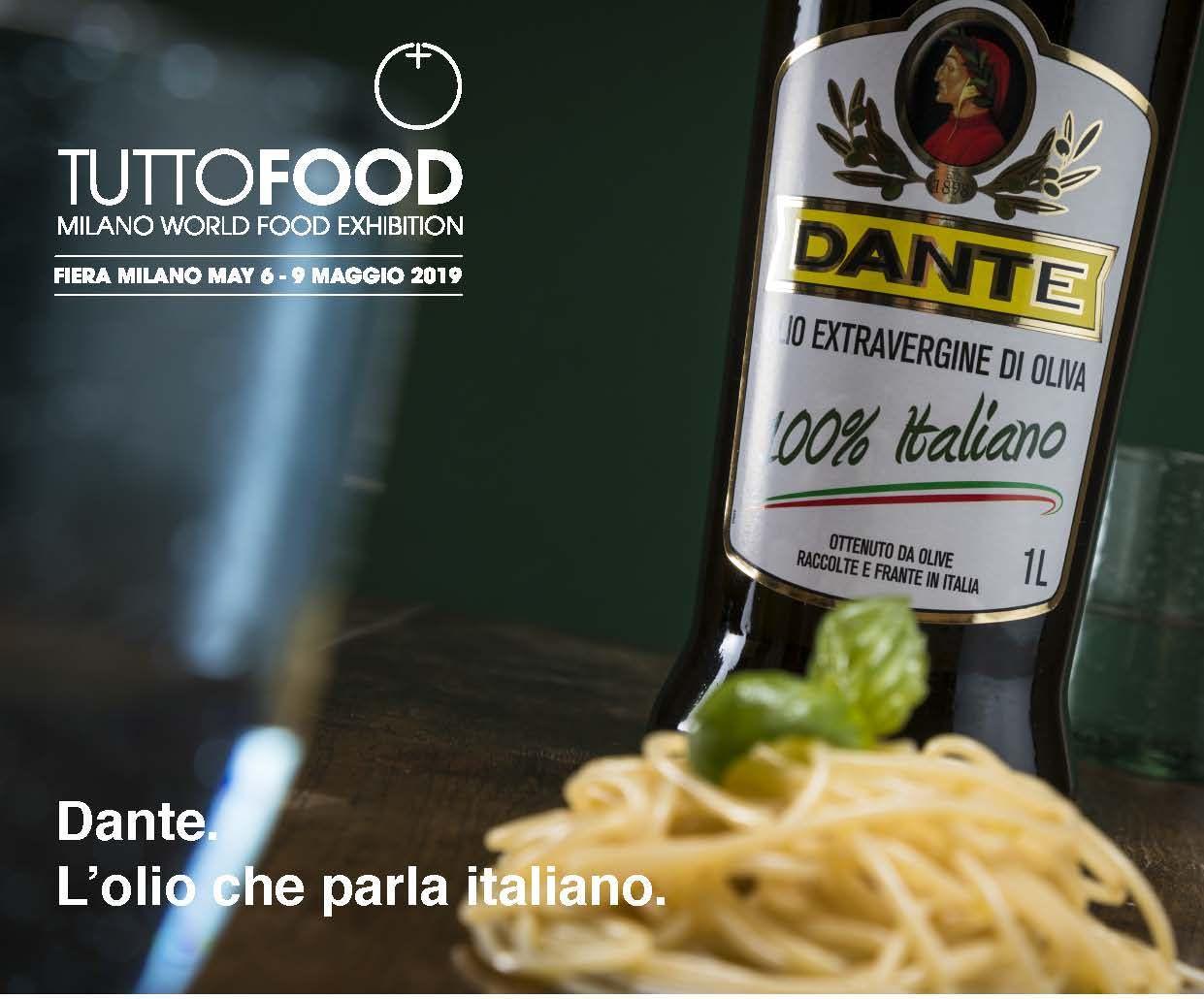 Olio Dante partecipa al Tuttofood 2019