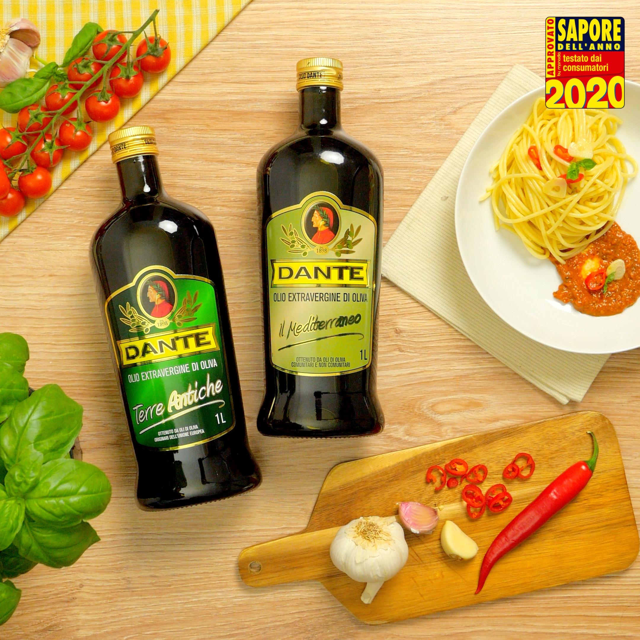 Spaghetti aglio, olio e peperoncino con pomodorini confit