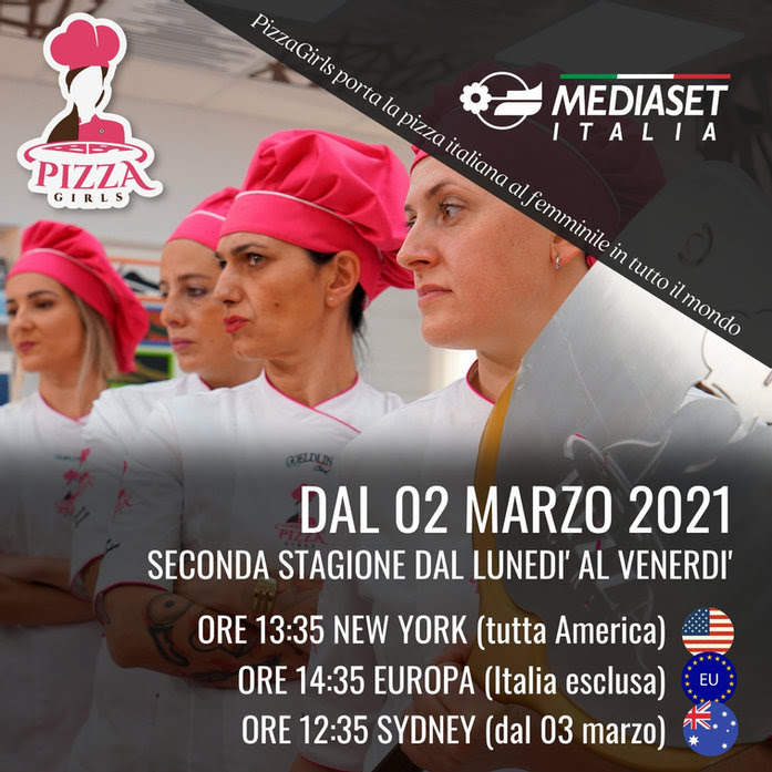 """PIZZAGIRLS"" LANDS ABROAD: OLIO DANTE MAIN SPONSOR ON MEDIASET ITALIA"